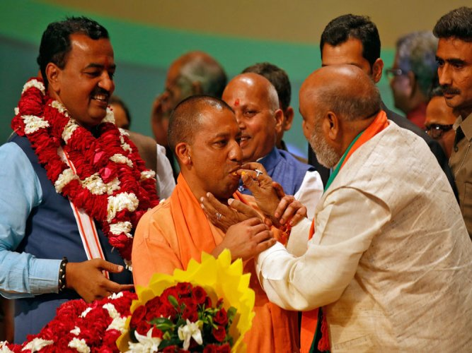 'Bachelor CMs' club has a new entrant in Adityanath