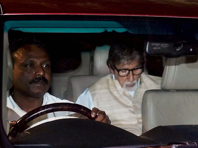 Big B mourns death of Aishwarya's father
