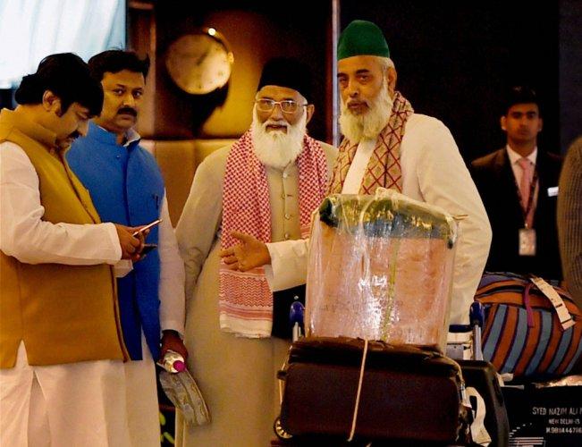 Nizamuddin clerics return home, disappearance remains mystery