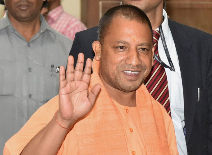 Purifying rituals at UP CM bungalow, new home for Yogi Adityanath