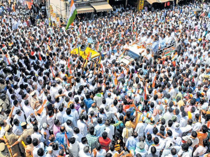 Cong, BJP nominees file papers for bypolls