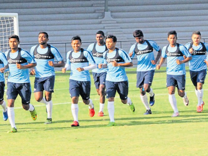 India to test waters against Cambodia