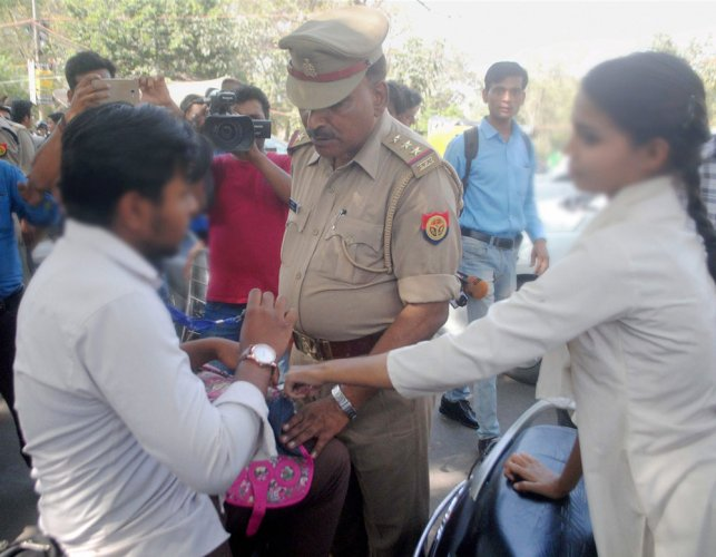 'Anti-Romeo' squads hit the streets in UP