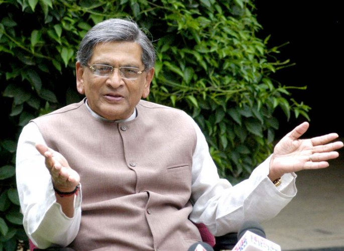 Krishna takes dig at Rahul, says politics is serious business
