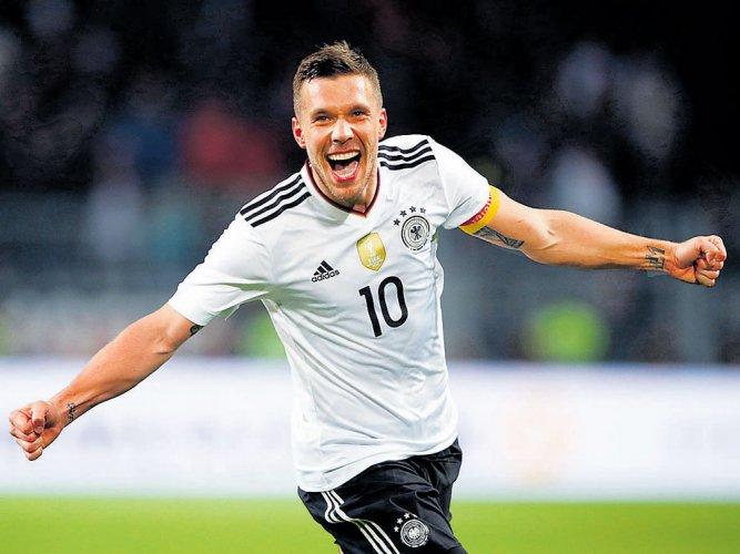 Podolski's fitting finale