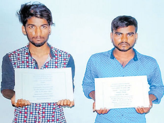 2 held for stealing pistol from MLA's gunman; weapon recovered