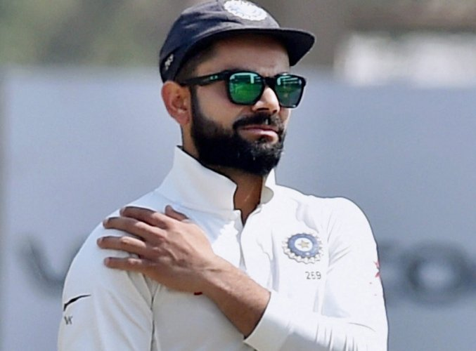 8631a76c4b Indian skipper Virat Kohli during 5th day of 3rd Test Match against  Australia in Ranchi. PTI File photo