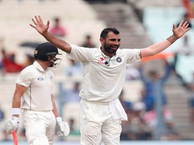 Shami all set to replace Ishant in playing XI