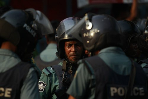 'Suicide attack' near Dhaka airport