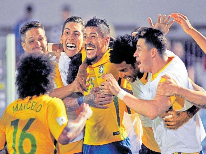 No stopping Brazil