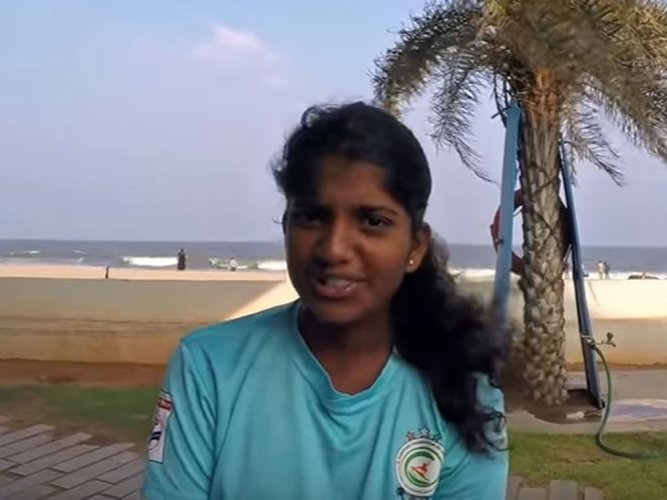 Mangaluru girl to represent country US surfing event