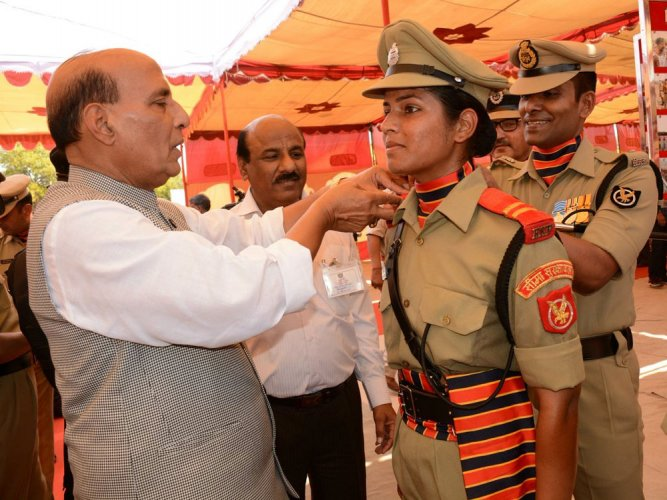 BSF gets first woman combat officer after 51 years
