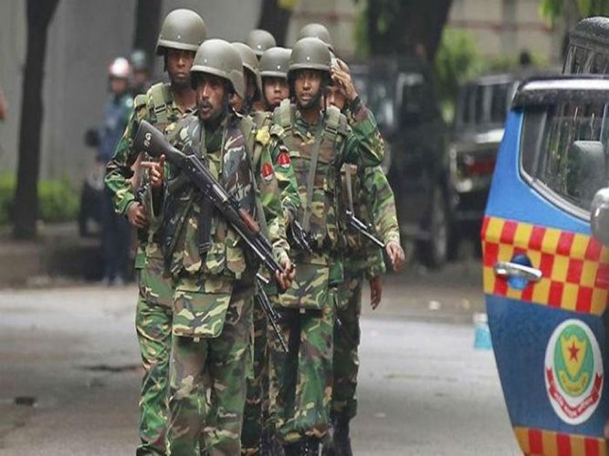B'desh: 3 killed, 31 injured as commandos storm militants' den