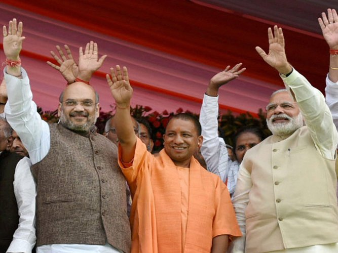 Yogi, BJP and Hindutva