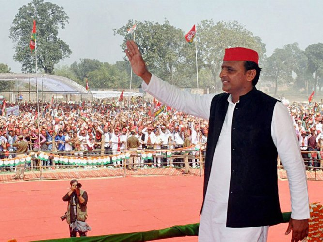 Will purify house with Gangajal in 2022 : Akhilesh
