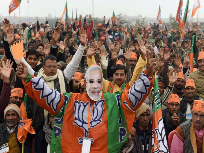 BJP kickstarts campaign in Delhi