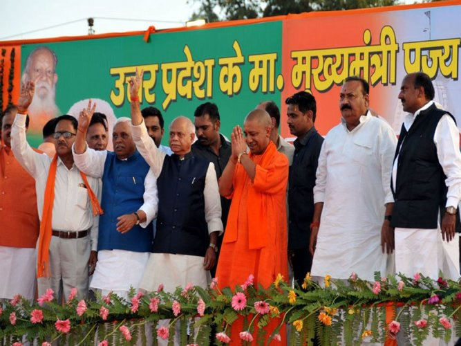 Unable to repay loan, man tries self-immolation at UP CM's event