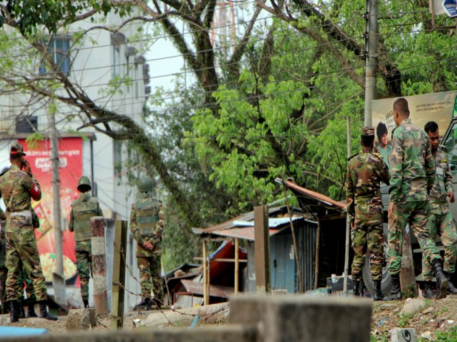 2 Islamist militants killed in Bangladesh military raid