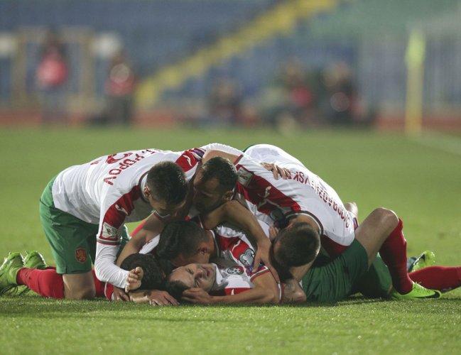 Bulgaria shock Holland