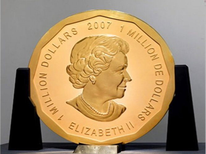 100-kilo gold coin stolen from Berlin museum