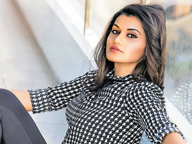 It's intimidating to do action alongside Akshay: Taapsee