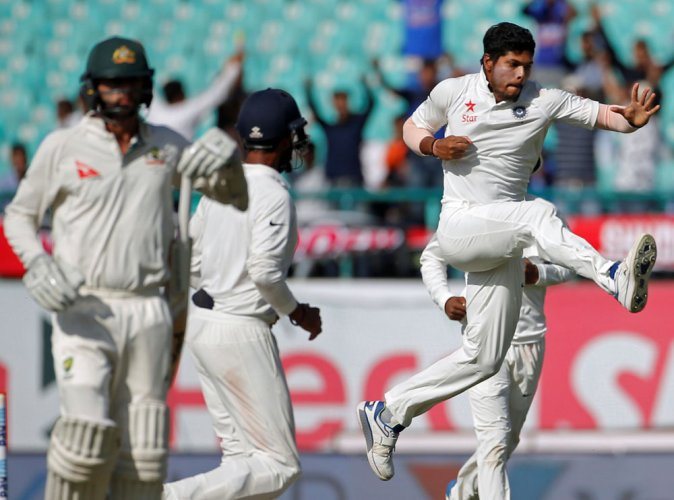 Bowlers leave India on verge of series win