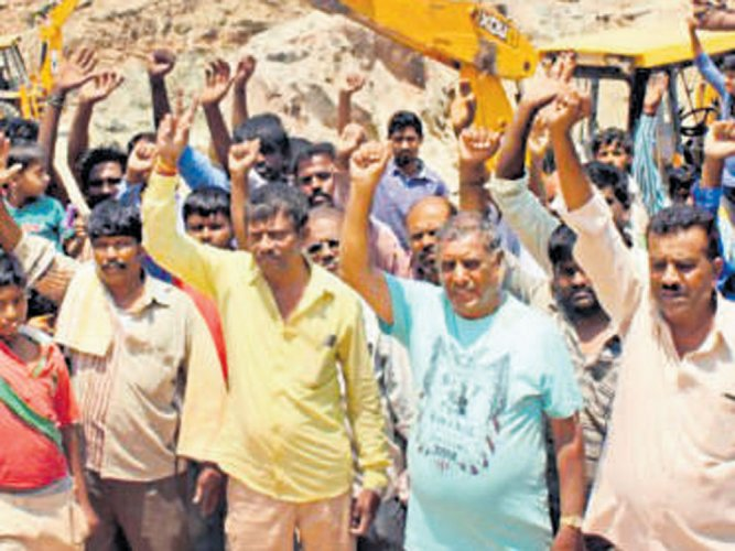Lake development: residents protest official 'apathy'