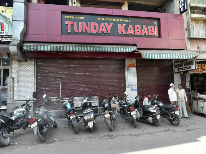 UP meat sellers down shutters