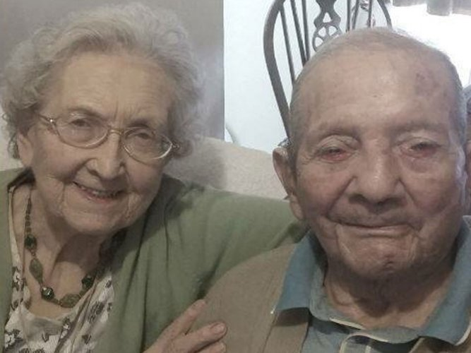 Secret to long marriage is 'hot meal': UK's longest-wed couple