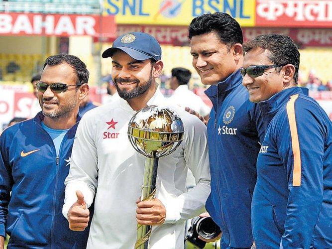 No 1 India receive their bounty