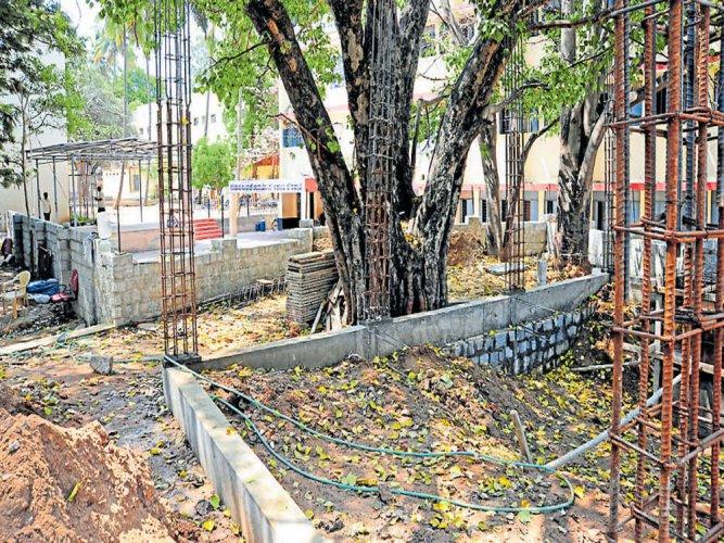School files plaint against 'illegal' temple construction on its premises