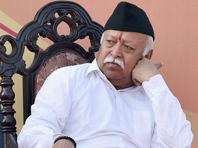 Not in the Presidential race, says RSS chief