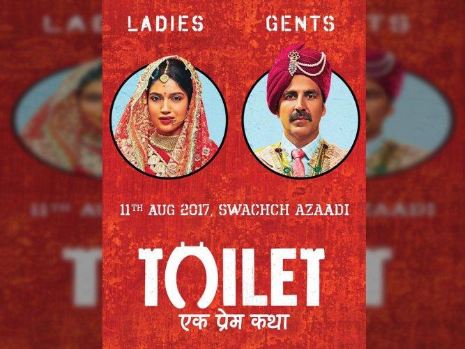 Akshay Kumar unveils first poster of 'Toilet: Ek Prem Katha'