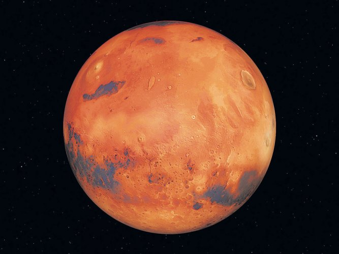 Solar wind stripped Mars of its atmosphere: NASA