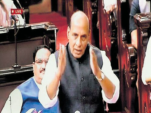 Pak using social media to incite youth in Kashmir: Rajnath