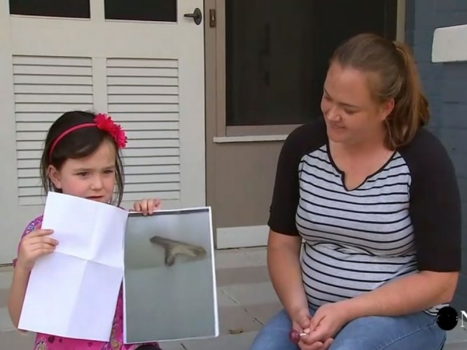 US girl, 5, suspended from school for playing with 'stick gun'