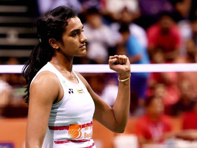 Sindhu beats Saina in clash of titans