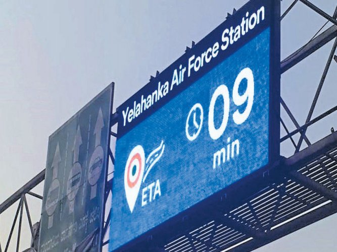 Traffic cops to instal  40 more digital boards