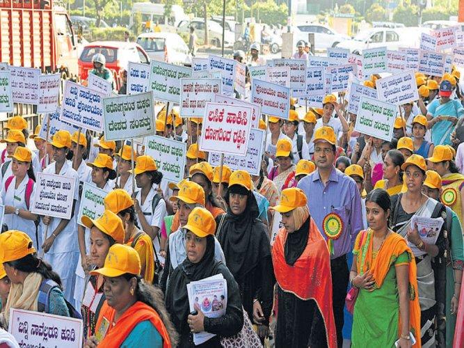 Pulse polio immunisation in two phases in Karnataka