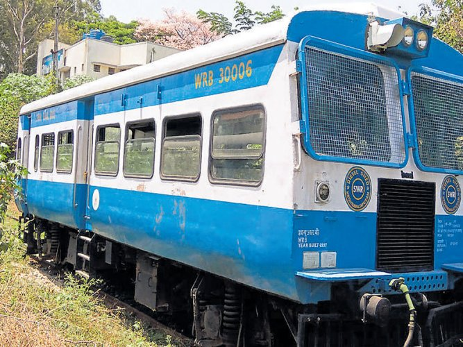 Rail bus comes to a rest after 20-year service