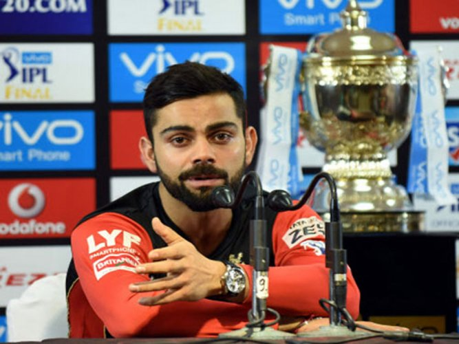 Kohli's IPL availability to be assessed in 2nd week of April