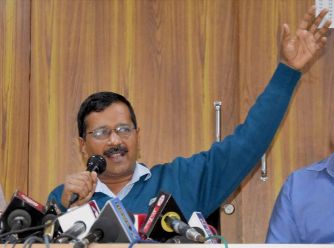 Probe if EVMs can be tweaked in favour of BJP: Kejriwal to CEC