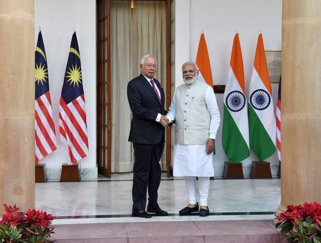 India, Malaysia vow to strengthen strategic, trade ties