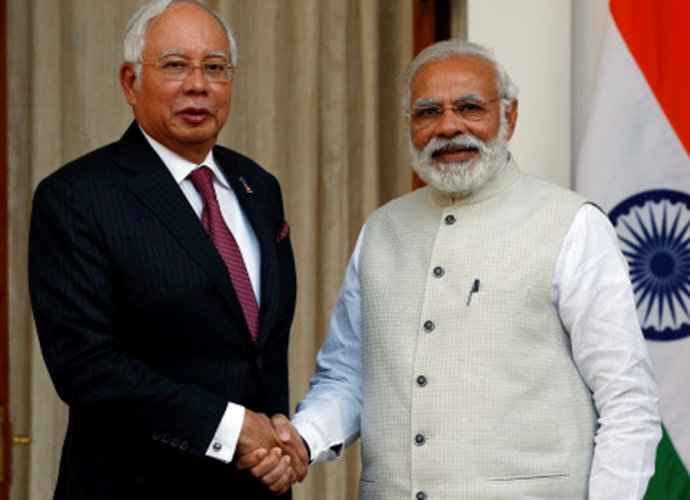 Malaysia, India urge nations to resolve SCS dispute