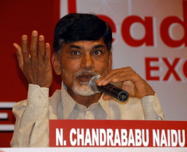 AP Cabinet: Naidu inducts son, 4 YSRC MLAs who switched sides