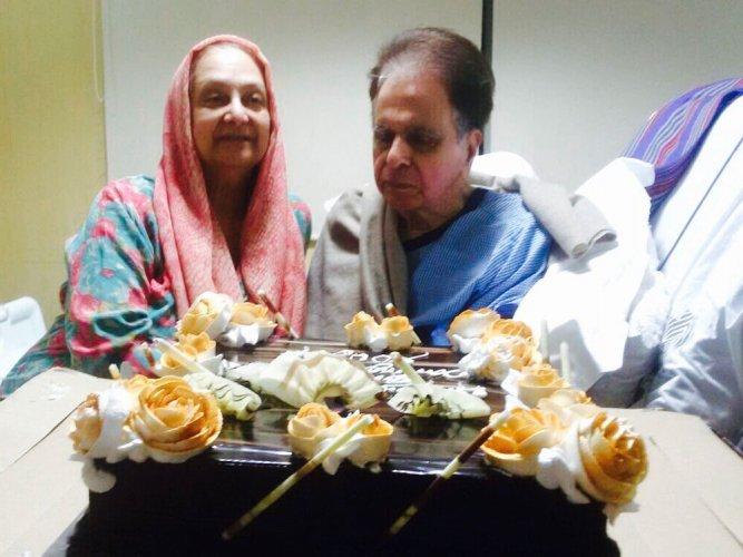 Dilip Kumar is doing well: Saira Banu