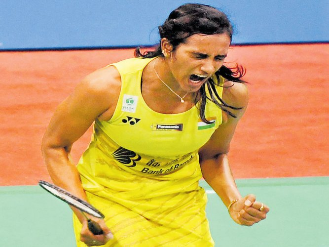 Super Sindhu conquers Marin to win her maiden India Open title