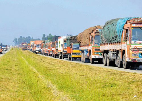 Truckers strike to affect supplies from today
