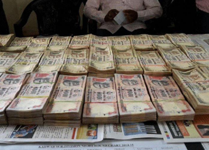 Cong leader's kin, 13 aides nabbed; money exchange racket busted