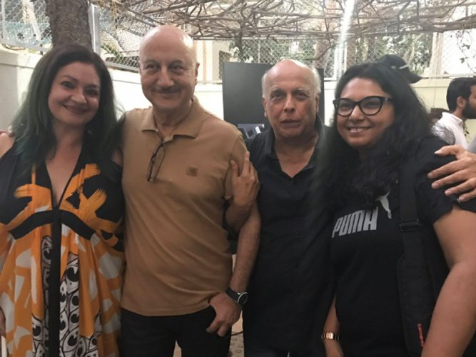 Anupam Kher thanks Mahesh Bhatt for Bollywood debut 'Saaransh'